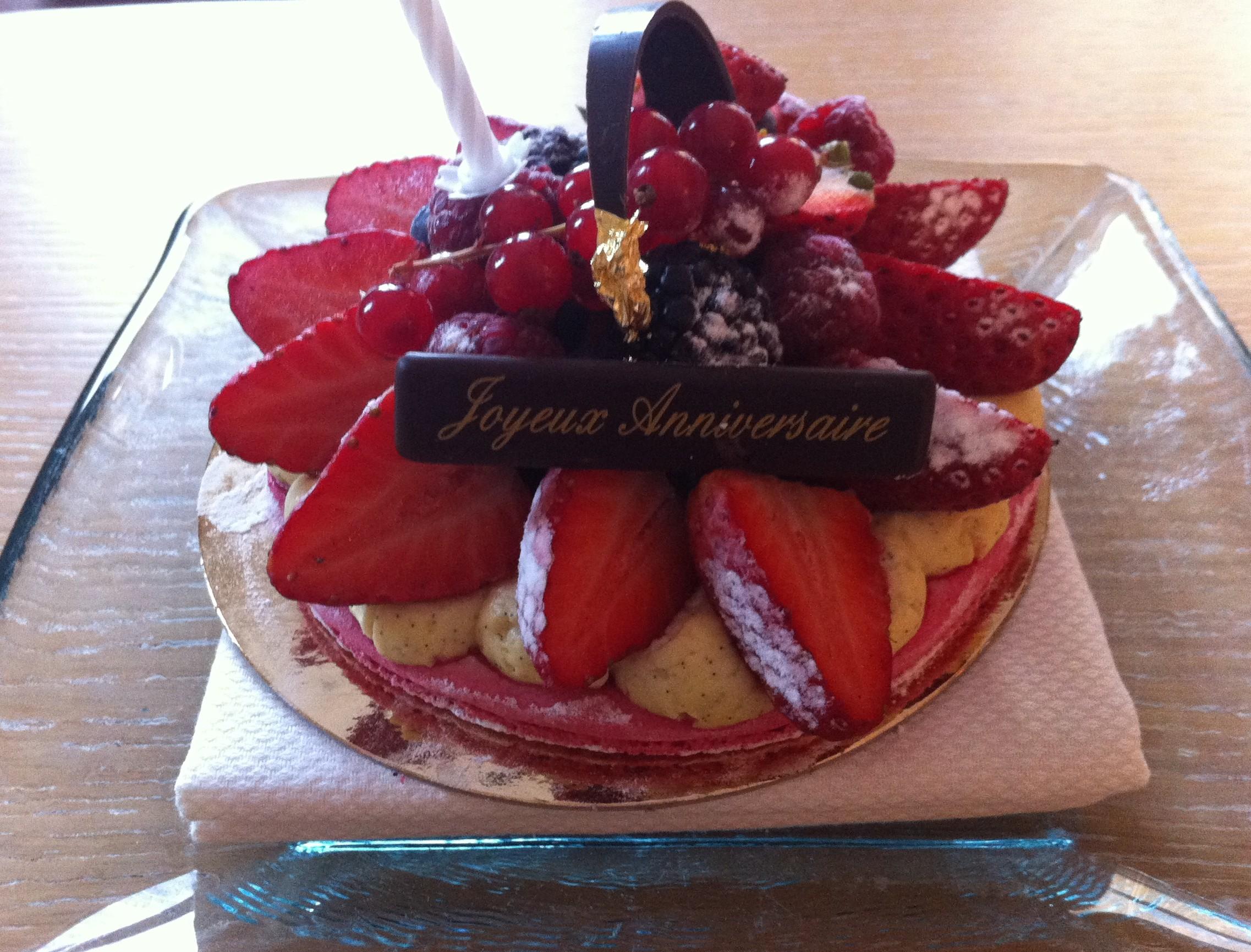 Birthday Cake Salcombe